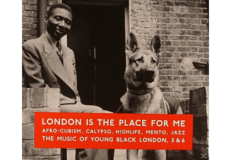 VARIOUS - London Is The Place For Me: The Music Of Young Black London, 5 & 6 - (CD)