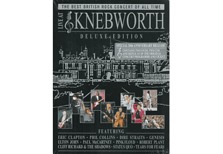 VARIOUS - Live At Knebworth (Deluxe Edition) - (DVD + CD)