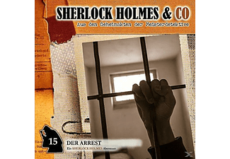 Sherlock Holmes & Co - Der Arrest-Vol.15 - 1 CD - Krimi/Thriller