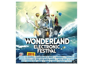 VARIOUS - Wonderland Electronic Festival 2015 [CD]