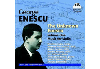 VARIOUS - The Unknown Enescu Vol.1 -  Music for Violin - (CD)
