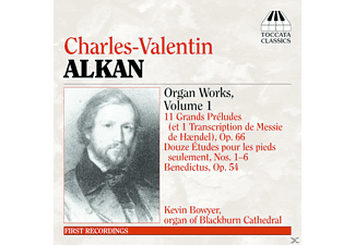 VARIOUS, Kevin Bowyer - Alkan Orgelwerke Vol.1 - (CD)