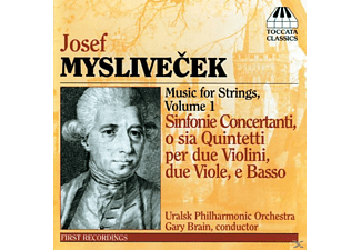 Strings Of The Uralsk Philharmonic Orchestra - Myslivecek Sinfonie Conc.Op.2 - (CD)
