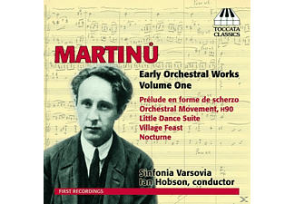 Ian Hobson, The Sinfonia Varsovia - V 1: Early Orchestral Works - (CD)