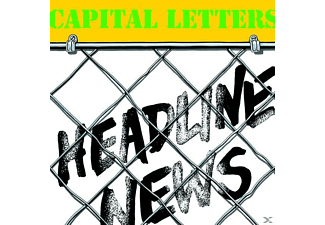 Capital Letters - Headline News - (Vinyl)