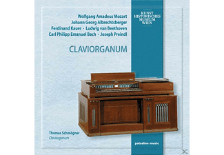 Thomas Schmögner - Claviorganum [CD]