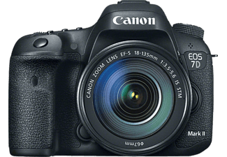 CANON EOS 7D Mark II 18-135 mm IS STM Lens Kit Dijital SLR Fotoğraf Makinesi
