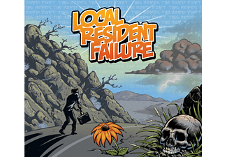 Local Resident Failure - This Here's The Hard Part - (CD)