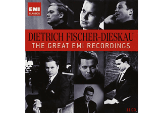 Dietrich Fischer-Dieskau, VARIOUS - The Great Emi Recordings - (CD)