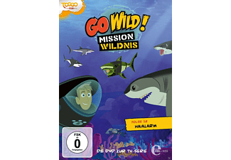 Go Wild! Mission Wildnis, Vol.12: Haialarm [DVD]