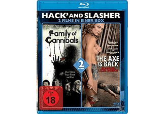 Hack And Slasher: Family Of Cannibals / The Axe Is Back - (Blu-ray)