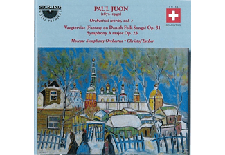 Christof Escher (dir) Moscow So - Paul Juon,Orchestral works,vol.1 - (CD)