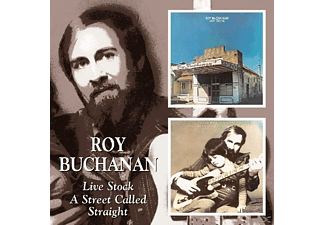 Roy Buchanan - Live Stock + A Street Called S - (CD)
