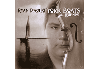 Ryan D'aoust - York boats & legends - (CD)