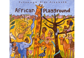 Various, Putumayo Kids Presents/Various - African Playground - (CD)