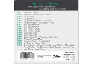 Marcelle Meyer - Complete Studio Recordings [CD]