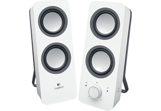 LOGITECH Multimedia Speakers Z200 White - (980-000811)