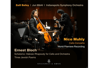 Zuill Bailey, Indianapolis Symphony Orchestra - Schelomo/Cello Concerto/Three Jewish Poems [CD]