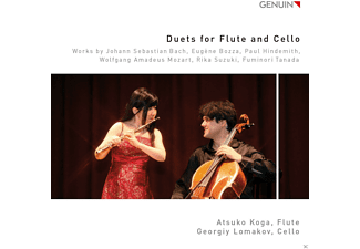 Atsuko Koga, Georgiy Lomakov - Duets For Flute And Cello - (CD)