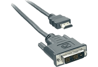 VIVANCO HDMI - DVI kabel, 2m