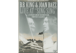 "King, B.B. & Baez, Joan - Live At ""Sing Sing""-A Legend - (DVD)"