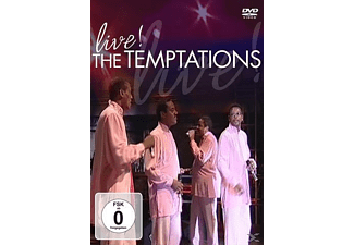 The Temptations - Live! - (DVD)