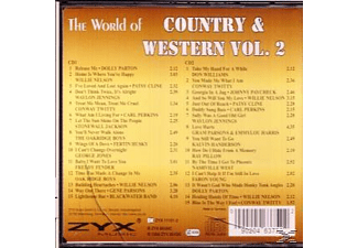 Various - The World Of Country & Western Vol.2 - (CD)