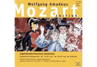 Wolfgang Amadeus Mozart - Jugendsymphonien-Early Symph. - (CD)