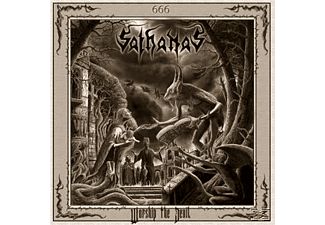 Sathanas - Worship The Devil - (CD)