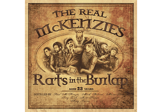 The Real Mckenzies - Rats In The Burlap [LP + Download]