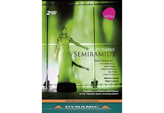 VARIOUS, Symphony Orchestra & Chorus Of The Vlaamse Opera Antwerp - Rossini - Semiramide [DVD]