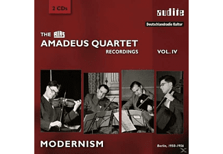 Amadeus Quartett - The Rias Recordings Volume 4 - Modernism [CD]