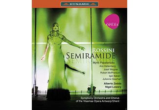 VARIOUS, Symphony Orchestra & Chorus Of The Vlaamse Opera Antwerp - Semiramide - (Blu-ray)
