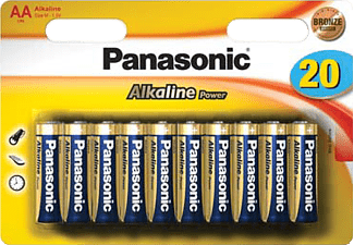 PANASONIC Alkaline Power AAA/R6 20-pack - Batterier