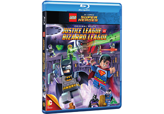 LEGO: Justice League vs. Bizarro League Familj Blu-ray