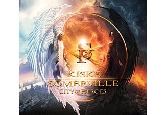 Michael Kiske;Amanda Somerville - City Of Heroes (Limited Gatefold) - (Vinyl)
