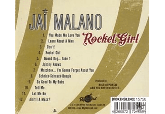 Malano, Jai/Duportal, Nico/His Rhythm Dudes - Rocket Girl - (CD)