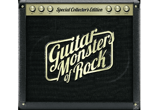 VARIOUS - Guitar Monsters Of Rock - (CD)