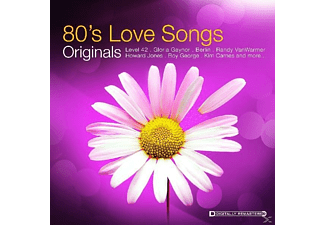 VARIOUS - Originals-80's Love Songs [CD]