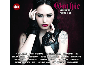 VARIOUS - Gothic Compilation 60+61 - (CD)
