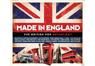 VARIOUS - Made In England-British Pop Anthology - (CD)