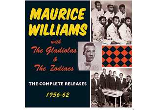Maurice Williams, The Gladiolas, Zodiacs - The Complete Releases 1956-62 - (CD)