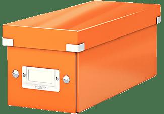 leitz click store cd aufbewahrungsbox orange b romaterial ordner kaufen bei media markt. Black Bedroom Furniture Sets. Home Design Ideas