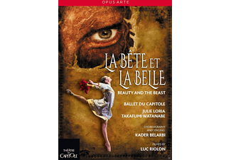 Ballet du Capitole - La Bete Et La Belle - Beauty And The Beast - (DVD)