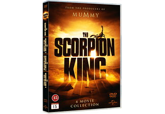 Scorpion King 1-4 Box Action DVD