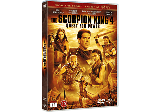 Scorpion King 4: Quest for Power Action DVD