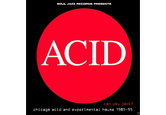 VARIOUS - Soul Jazz Records Presents: Acid - Can You Jack? - (CD)