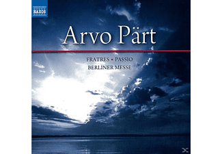Arvo Pärt, VARIOUS - Fratres/Passio/Berliner Messe - (CD)