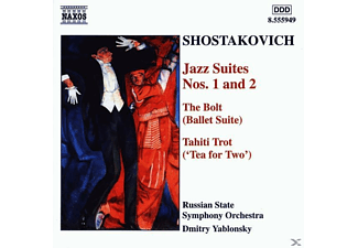 Russian State Orchestra, Dmitry/russian State Symphony Orchestra Yablonsky - Jazz Suiten 1+2/The Bolt/Ta - (CD)