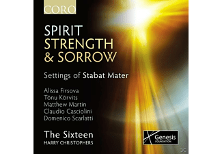The Sixteen/Christophers* - Spirit, Strength & Sorrow-Settings Stabat Mater [CD]